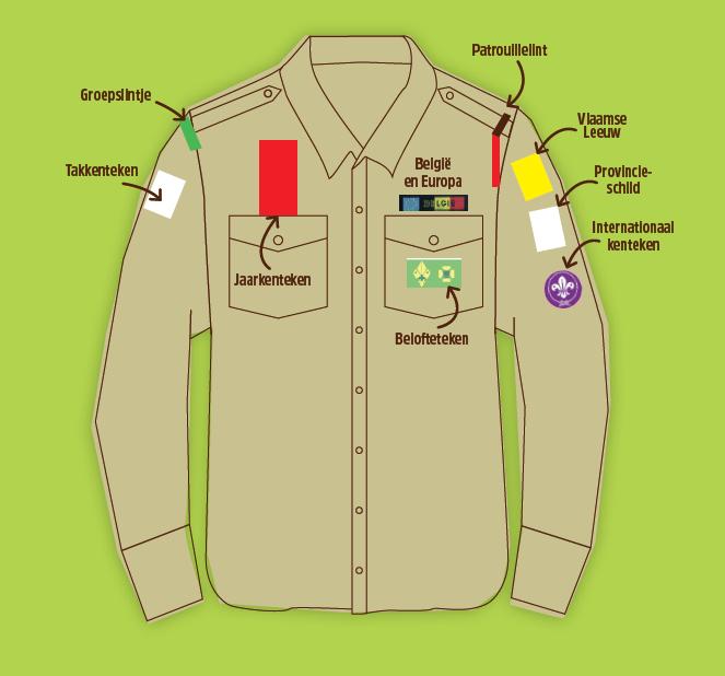 Uniform – Scouts & Gidsen Ruddervoorde